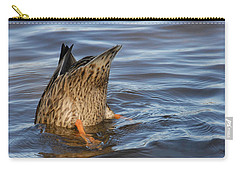 Carry-all Pouch featuring the photograph Bottom's Up by Cindy Manero
