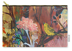 Carry-all Pouch featuring the painting Breath Of Cooler Air by Robin Maria Pedrero