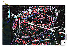 Breaux Bridge Crawfish Festival Carry-all Pouch