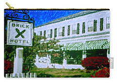 Brick Hotel Carry-all Pouch by Vickie G Buccini
