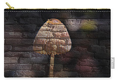 Brick Mushroom Carry-all Pouch by Eric Liller