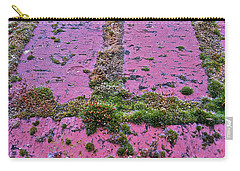 Carry-all Pouch featuring the photograph Brick Wall by Bill Owen