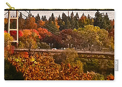 Carry-all Pouch featuring the photograph Bridge by Bill Owen