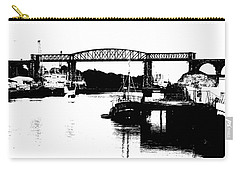 Carry-all Pouch featuring the photograph Bridge On The Boyne by Charlie and Norma Brock