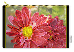 Carry-all Pouch featuring the digital art Bright Edges by Debbie Portwood