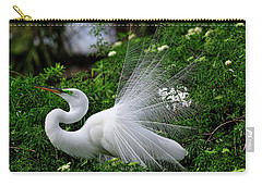 Brilliant Feathers Carry-all Pouch