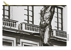 Carry-all Pouch featuring the photograph Bronze Icon by Eric Tressler