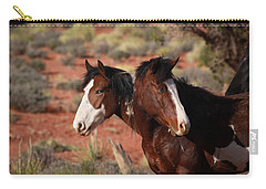 Brothers Carry-all Pouch by Diane Bohna