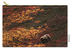 Brown Bear Denali National Park Carry-all Pouch