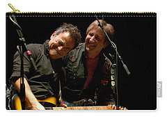 Bruce Springsteen And Danny Gochnour Carry-all Pouch