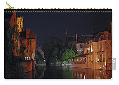 Carry-all Pouch featuring the photograph Bruges by David Gleeson