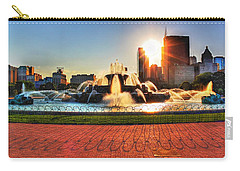 Buckingham Fountain Carry-all Pouch by Dan Stone