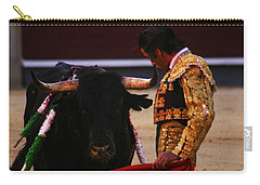 Bullfight Madrid Carry-all Pouch