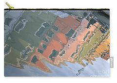 Carry-all Pouch featuring the photograph Burano House Reflections by Rebecca Margraf