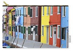 Carry-all Pouch featuring the photograph Burano Italy 2 by Rebecca Margraf