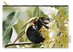 Busy As A Bee Carry-all Pouch by Joe Faherty