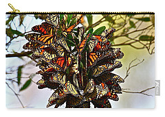Butterfly Bouquet Carry-all Pouch