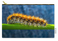 Butterfly Caterpillar Larva On The Stem Carry-all Pouch