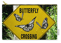 Butterfly Crossing Carry-all Pouch