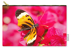 Carry-all Pouch featuring the photograph Butterfly by Les Palenik