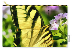Carry-all Pouch featuring the painting Butterfly by Lynne Jenkins