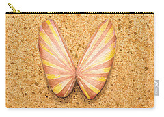 Butterfly Sea Shell Carry-all Pouch