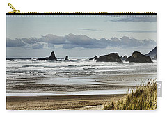 By The Sea - Seaside Oregon State  Carry-all Pouch by James Heckt