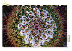 Cactus Radiance Carry-all Pouch by Vicki Pelham