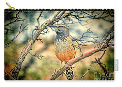 Cactus Wren Carry-all Pouch