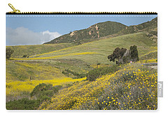 California Hillside View I Carry-all Pouch