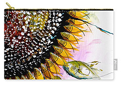 California Sunflower Carry-all Pouch