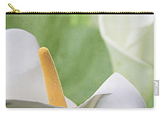 Calla Lilies Carry-all Pouch by Alyce Taylor