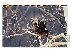 Carry-all Pouch featuring the photograph Calling For His Mate by Randall Branham