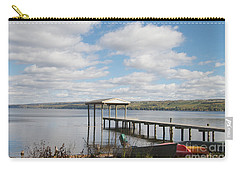 Carry-all Pouch featuring the photograph Calm Waters by William Norton