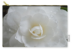 Camellia After Rain Storm Carry-all Pouch