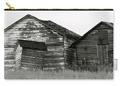 Carry-all Pouch featuring the photograph Canadian Barns by Jerry Fornarotto