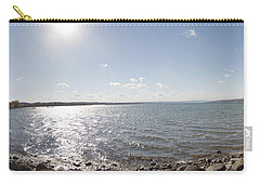 Carry-all Pouch featuring the photograph Canandaigua Lake Panorama by William Norton