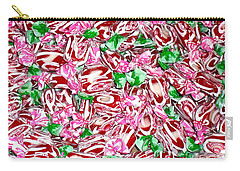 Candy Is Dandy Carry-all Pouch by Beth Saffer
