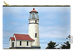 Carry-all Pouch featuring the photograph Cape Blanco Lighthouse by Nick Kloepping