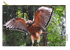 Carry-all Pouch featuring the photograph Captivity by Lydia Holly