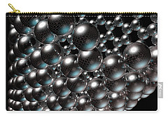 Carry-all Pouch featuring the digital art Carbon Nanotube 8 by Russell Kightley