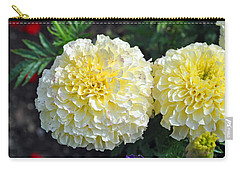 Carry-all Pouch featuring the photograph Carnations by Tikvah's Hope