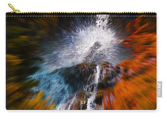 Carry-all Pouch featuring the photograph Cascade Waterfall by Mick Anderson