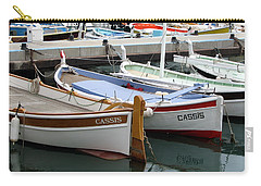 Carry-all Pouch featuring the photograph Cassis Harbor by Carla Parris