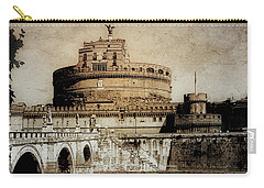 Castel Sant' Angelo Rome Carry-all Pouch by Julie Palencia