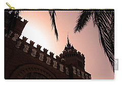 Carry-all Pouch featuring the photograph Castell Dels Tres Dragons - Barcelona by Juergen Weiss