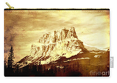 Castle Mountain Carry-all Pouch by Alyce Taylor