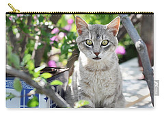 Cat Of Mykonos Carry-all Pouch