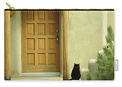 Cat Post Carry-all Pouch by Brent L Ander
