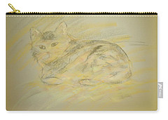 Cat Sketch 2 Carry-all Pouch
